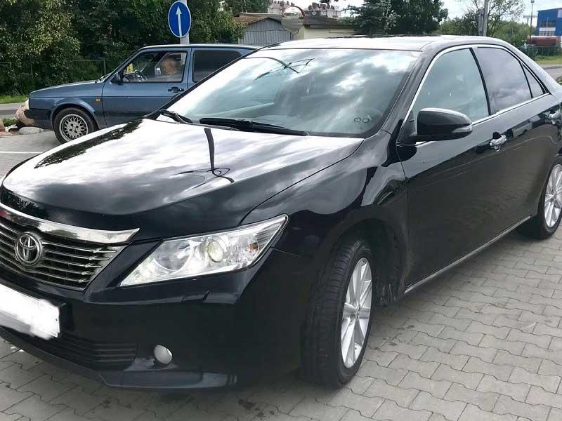 Выкуп Toyota Camry xv50 в СПб