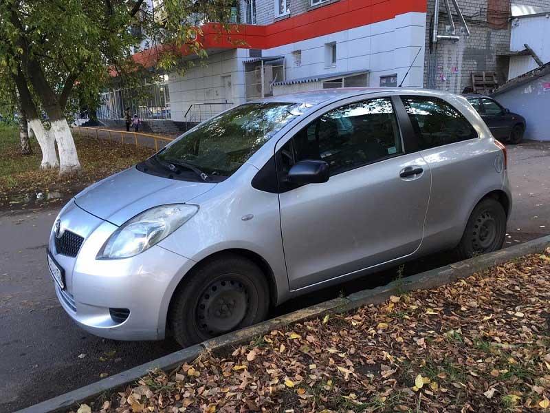Выкуп Toyota Yaris 2007 в СПб